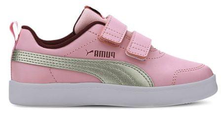 Puma 371543_10 Courtflex v2 V PS dekliške superge, roza, 29
