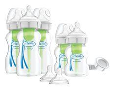 Dr.Brown´s Set 5 láhví Options+ široké hrdlo novorozenecká