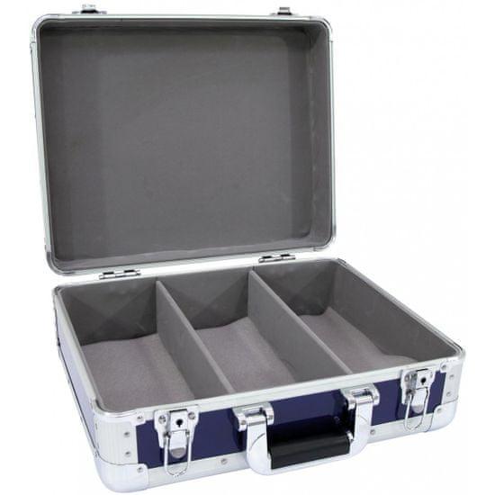 Roadinger CD Case Alu Digital Booking modrý