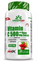 Amix Nutrition Vitamin C 500 s extraktem z šípků 60kapslí