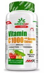 Amix Nutrition ProVegan Vitamin C 1000 s extraktem z aceroly 60kapslí