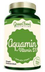 GreenFood Aquamin + Vitamín D3 60kapsúl