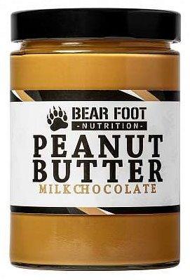 Bear Foot Peanut Butter jemný arašidový krém 550g mliečna čokoláda