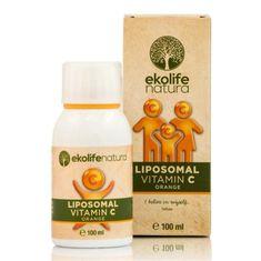 Ekolife Natura Liposomal Vitamin C 500mg ( Lipozomálny vitamín C ) 100ml