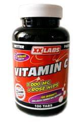 XXlabs Nutrition Vitamín C 1000mg so šípkovým extraktom 100 tabliet