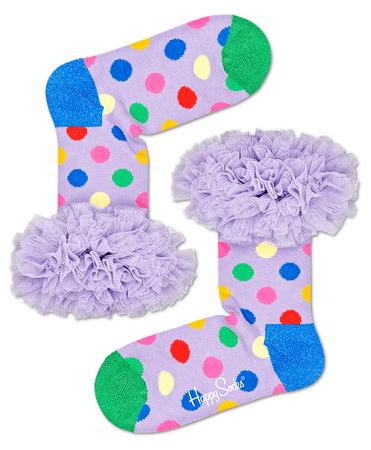 Happy Socks Kids Tulle Sock gyermek zokni, 33 - 35, színes