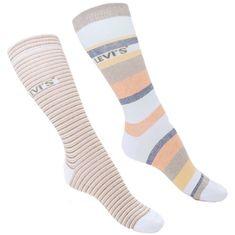 Levi's 2PACK ponožky viacfarebné (903026001 010)