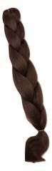 Vipbejba Lasni podaljški za pletenje kitk, #33 čokoladno rjavi