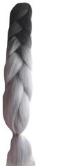 Vipbejba Lasni podaljški za pletenje kitk, B36 black & grey