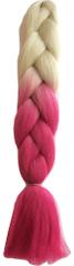 Vipbejba Lasni podaljški za pletenje kitk, B48 blond & pink love