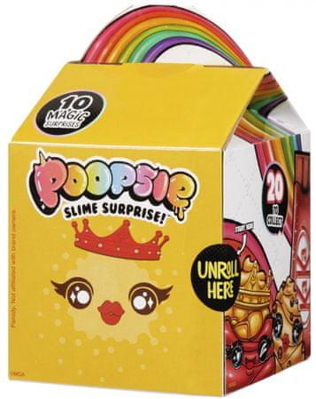 Poopsie Surprise csomag nyálkakészítésre, sárga