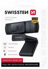 SWISSTEN webkamera FHD 1080P (55000001)