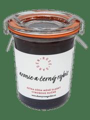 Rose Garden Arónie a černý rybíz, Extra džem méně sladký