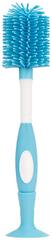 Dr.Brown´s Kefa na fľaše Soft silikónová modrá
