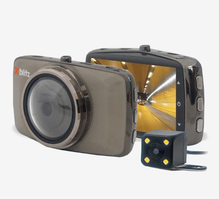 XBlitz Dual Core avto kamera + vzvratna