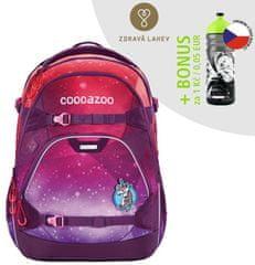 CoocaZoo Školský batoh ScaleRale, OceanEmotion Galaxy Pink, certifikát AGR