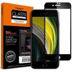Spigen Full Cover ochranné sklo na iPhone 7/8/SE 2020, čierne