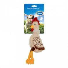 Duvo+ Plüss kutyajáték 50x15x1,5cm csirke