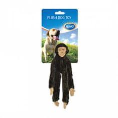 Duvo+ Plüss kutyajáték 35x13x4cm majom