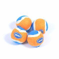 Duvo+ Mini tenisové loptičky 4ks 4,2cm