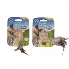 Duvo+ Textilné zvieratko s chvostíkom plnené s catnipom