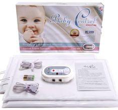 Baby Control Digital Monitor dychu Baby Control BC - 230i, pre dvojčatá s 2x2 senzorovými podložkami