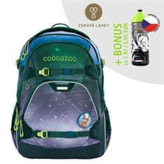 CoocaZoo Školský batoh ScaleRale, OceanEmotion Galaxy Blue, certifikát AGR