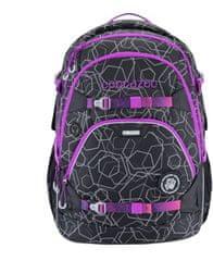 CoocaZoo Školní batoh ScaleRale, Laserbeam Berry, certifikát AGR