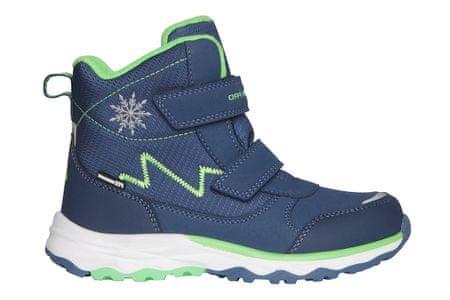 ALPINE PRO KBTS261682 Mokosho fantovski zimski čevlji, modri, 28