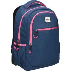 Street Round One ruksak, plava-roza