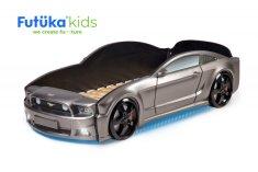 Futuka Kids Postel auto LIGHT + (3D LED světla, Spodní světlo)