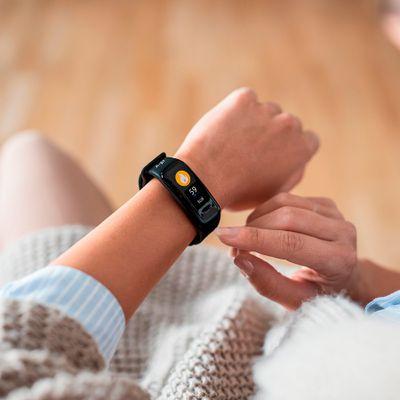 Fitness náramok Niceboy X-fit Plus, monitorovanie spánku, budíky