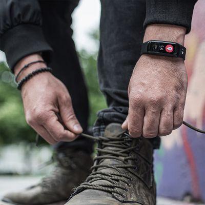 Fitness náramok Niceboy X-fit Plus, sledovanie tepu, tlaku, okysličenie krvi, kondície, aktivity, kroky, kalórie, vzdialenosti, Česká aplikácia