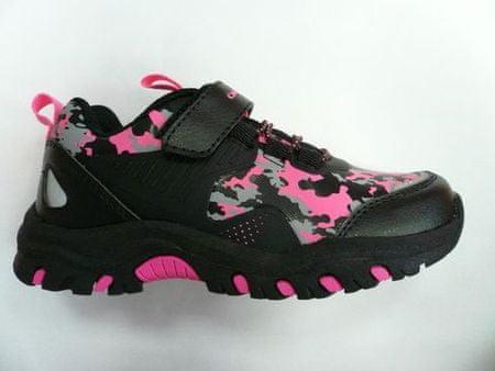 ALPINE PRO KBTS265452G Vato dekliški športni čevlji, črni, 28
