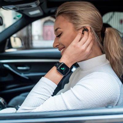 Chytré hodinky Niceboy X-fit Watch, notifikácia, telefonovanie, ovládanie hudobného prehrávača