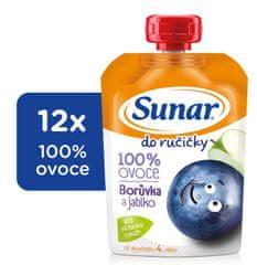 Sunar 12x Do ručičky-čučoriedka - 100g
