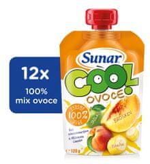 Sunar Cool ovoce Broskev, Banán, Jablko 12x120g