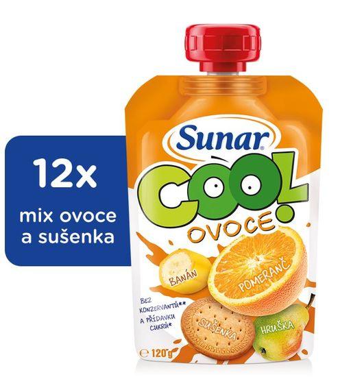 Sunar kapsička Cool ovoce Pomeranč, banán, sušenka