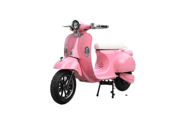 DONGMA Vespo, růžový elektrický skútr