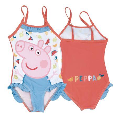 Disney Peppa Pig lány fürdőruha, 104 - 110, piros