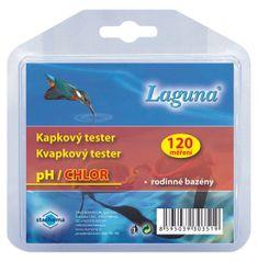 LAGUNA Kapkový tester na pH a chlor - 120 měření (chlorový)