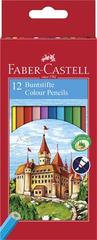 "Faber-Castell Barevné pastelky ""Classic"", 12 barev, šestihranné"