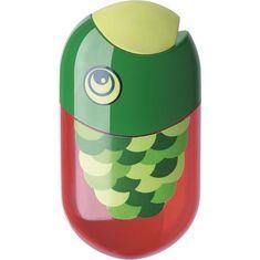 Faber-Castell Ořezávátko a guma, ryba, dvě díry, se zásobníkem
