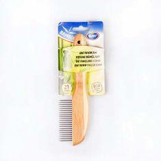 Duvo+ Hřeben vyčesávací 31 zubů bambus 21cm