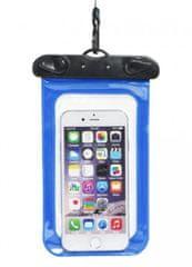OEM Voděodolné pouzdro na telefon nebo doklady - modré