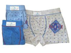 Gasolino 1827 chlapecké boxerky Barva: modrá světlá, Velikost oblečení: 6-116