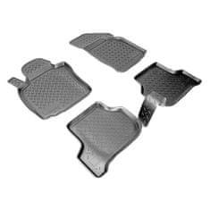 Unidec Gumové autokoberce přesné 3D Seat Leon (1P1) (2005-2012)