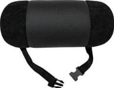 Matex Opěrka hlavy do auta Roll (25x11x11) | Černá