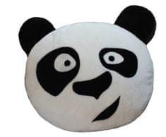 Matex Opěrka hlavy do auta Panda (34x27x10) | Žlutý | 100% Polyamid