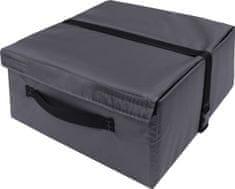 Matex Organizér do auta BOX (40x40x20)   PVC 100%   Šedý